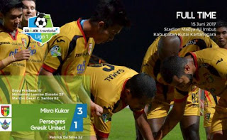 Mitra Kukar vs Gresik United