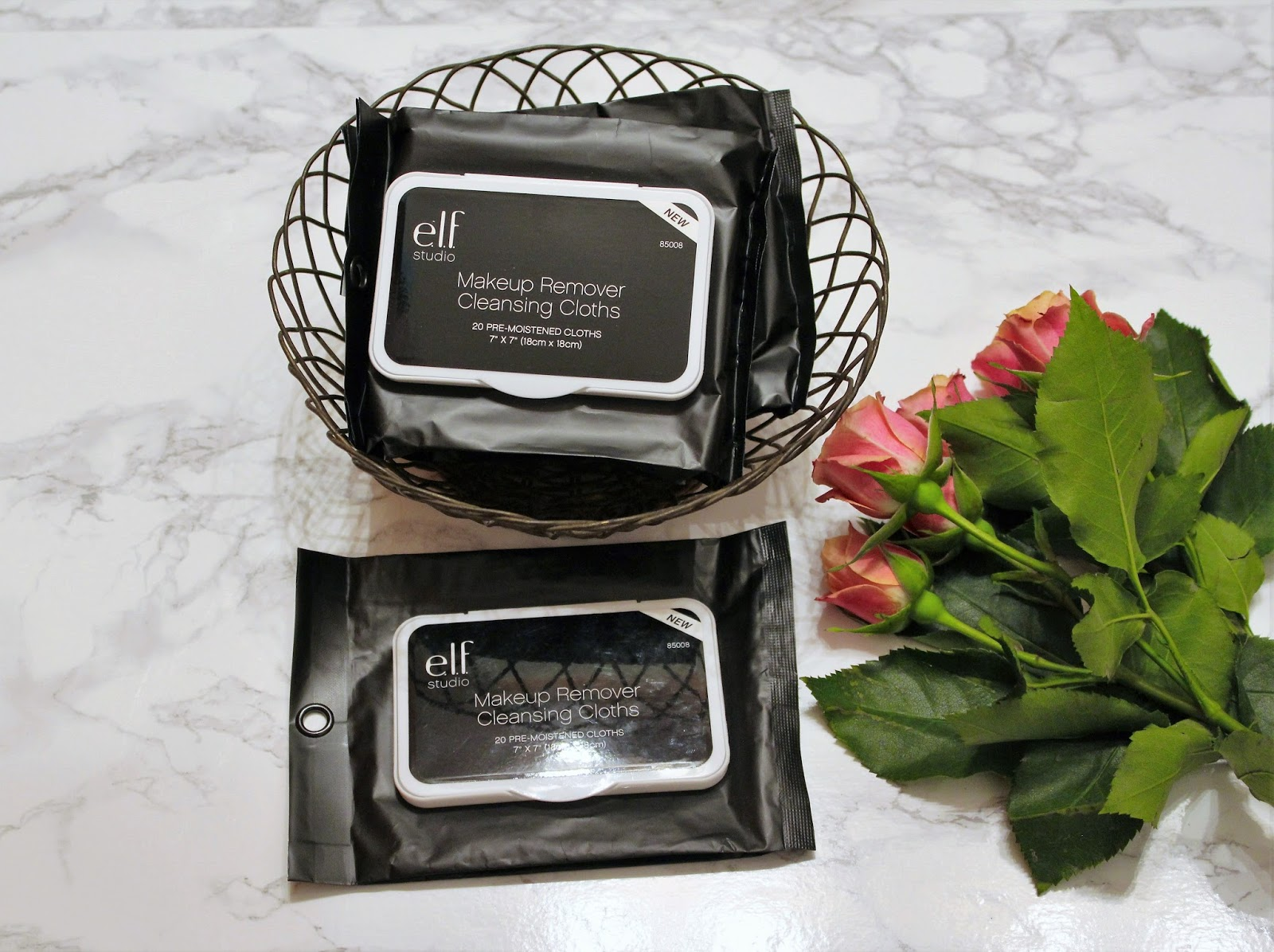 Running Low on Lipstick: e.l.f. Studio Makeup Remover Cleansing Cloths
