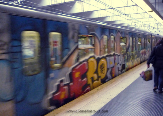 El metro de Roma