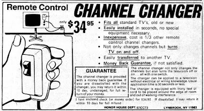 Remote Control Channel Changer