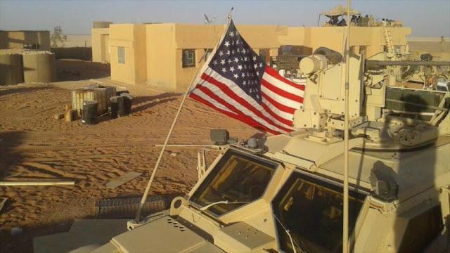 EEUU crea 'refugio' para terroristas en una de sus bases en Siria