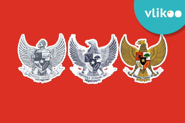 Sejarah Makna Lambang Negara Indonesia Garuda Pancasila Vlikoo
