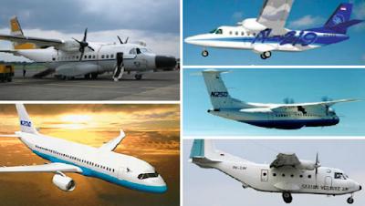 Pesawat Terbaru N-245 Produk Indonesia Terbang 2018