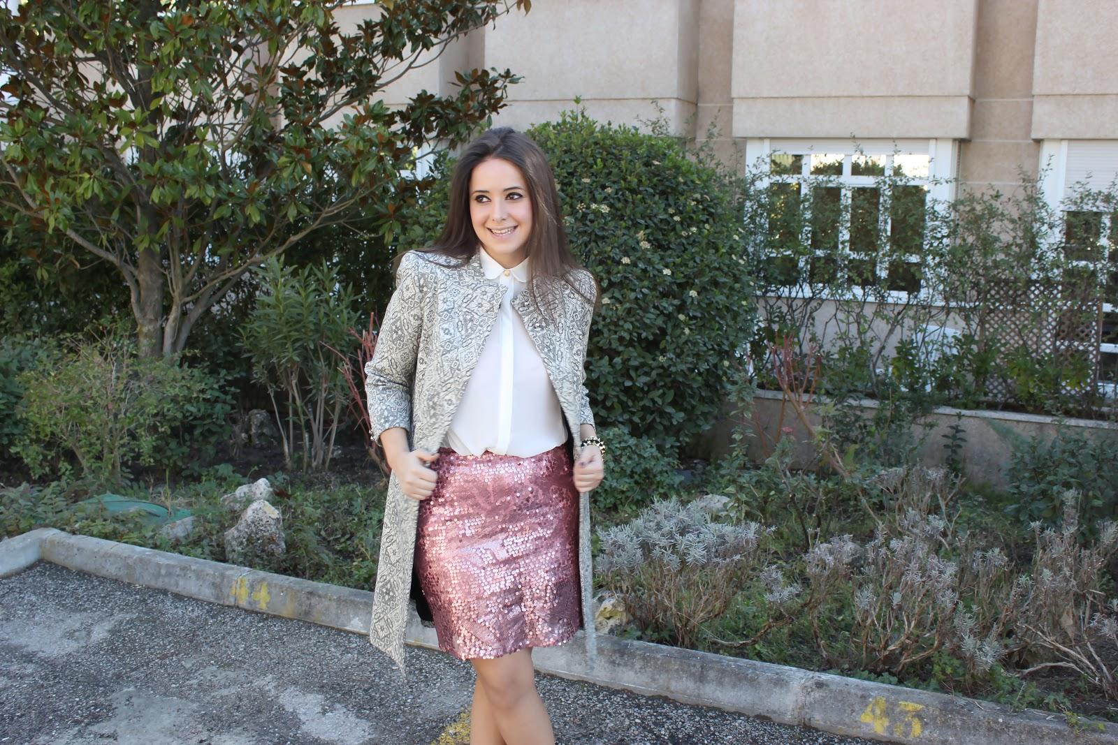 4766a0724 Falda De Lentejuelas Para Boda | Wig Elegance