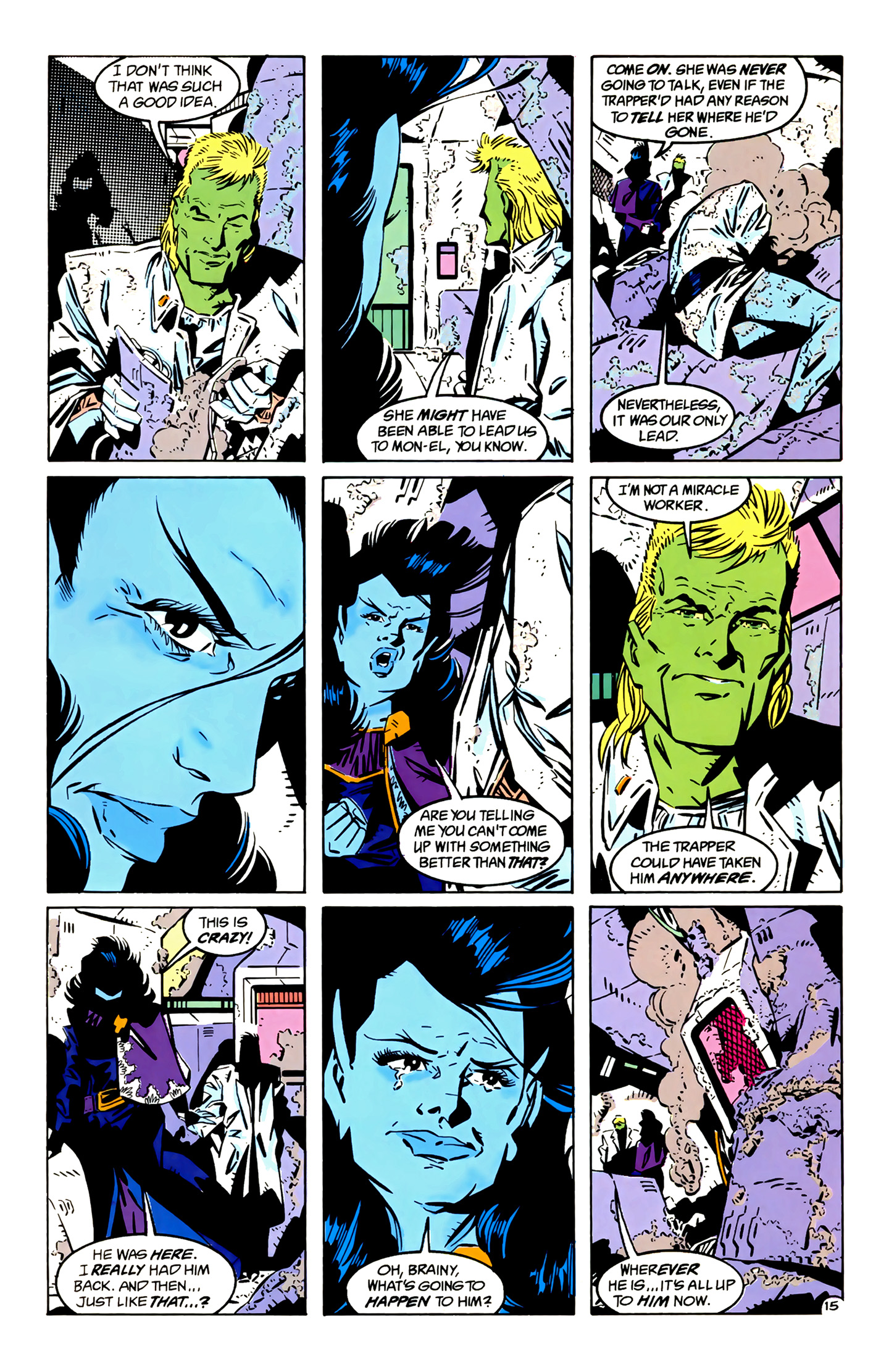 Legion of Super-Heroes (1989) 4 Page 15