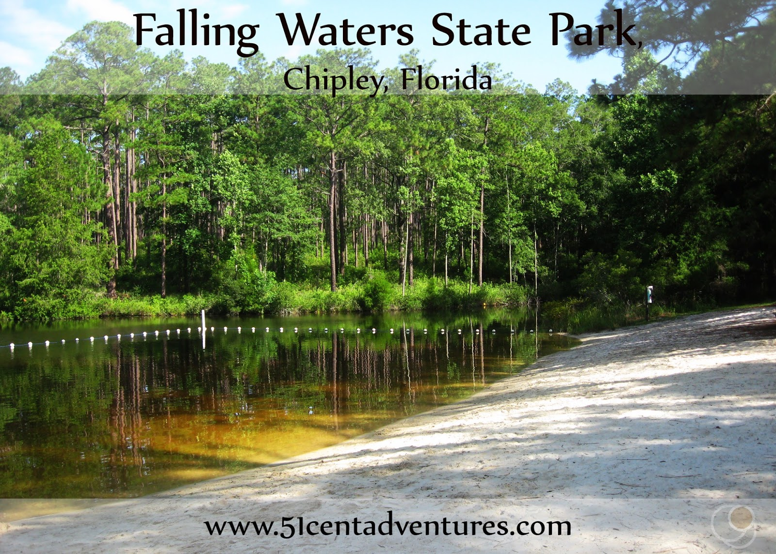 51 Cent Adventures: Camping at Falling Waters State Park ...