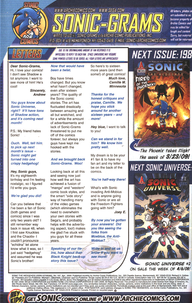 Read online Sonic The Hedgehog comic -  Issue #197 - 34