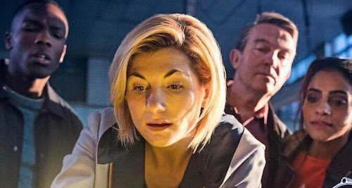 Doctor Who series 11 first look during World Cup final