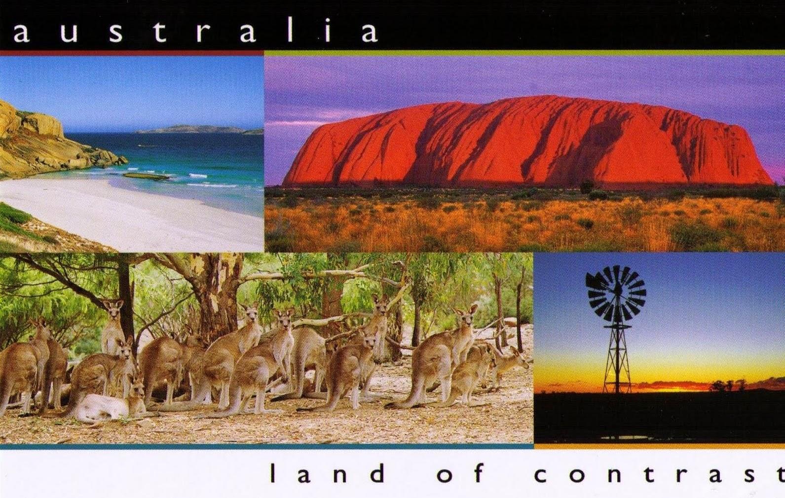 Австралия страна контрастов