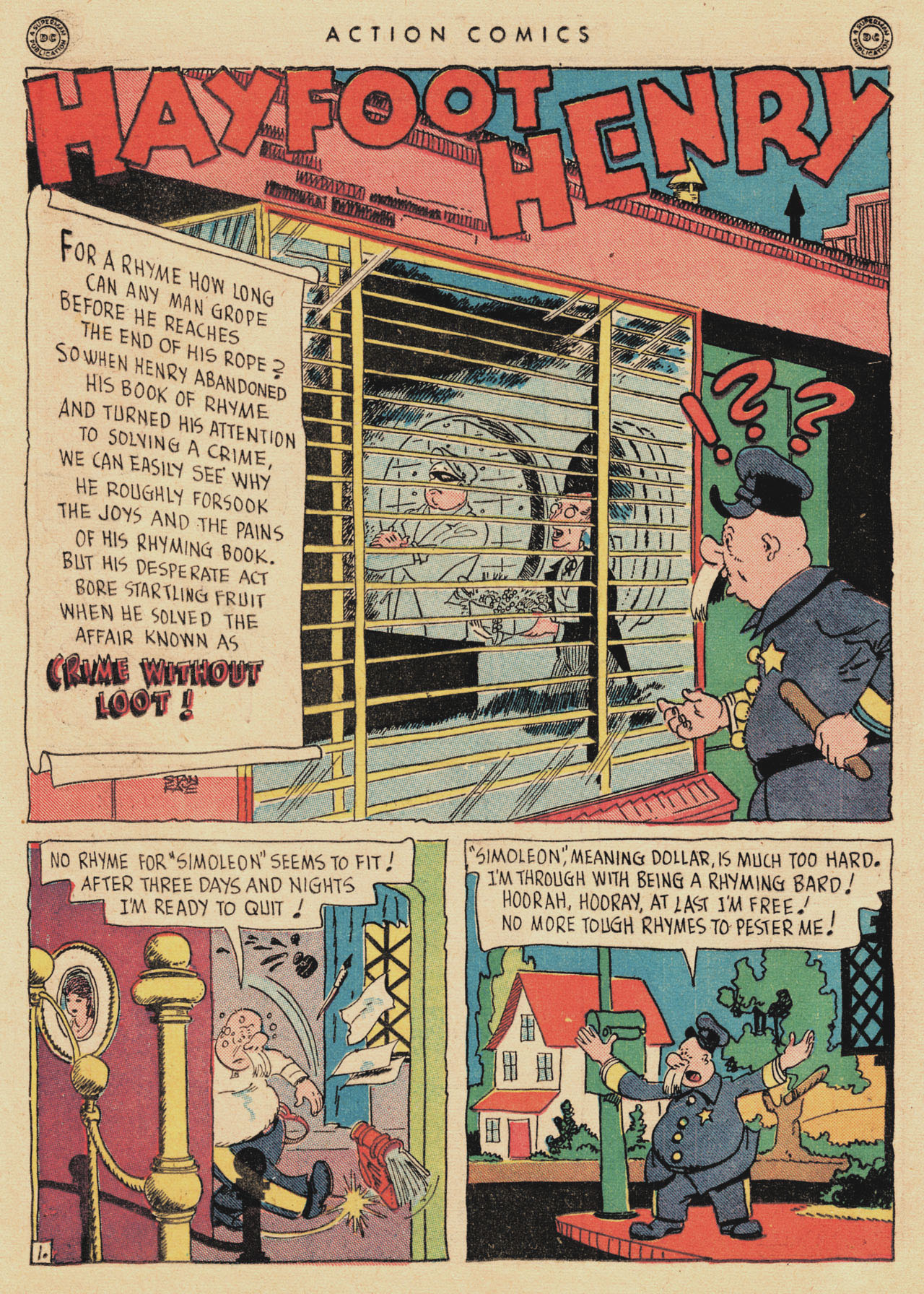Read online Action Comics (1938) comic -  Issue #94 - 16