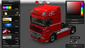 Holland Style Skin for DAF XF
