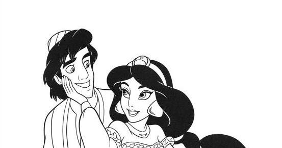 Aladino Da Colorare Aladdin Disegno Da Colorare N1 Migliori