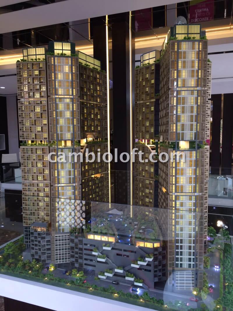 Apartemen Cambio Lofts Alam Sutera Tampak Depan