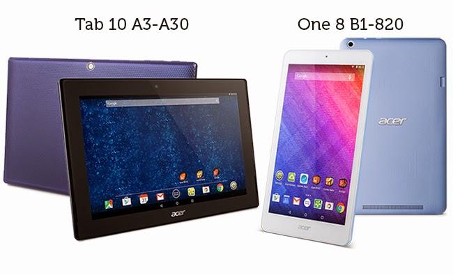 Acer Siap Luncurkan Dua Tablet Iconia Terbaru