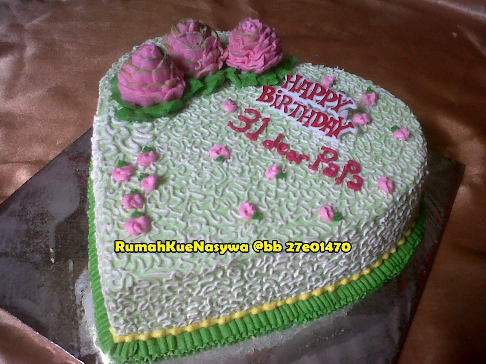 Rumah Kue Nasywa Love Cake