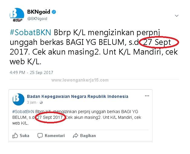 Pemerintah indonesia kembali membuka lowongan periode dua mencapai  Kabar Gembira, Pendaftaran Online CPNS 2018 Diperpanjang