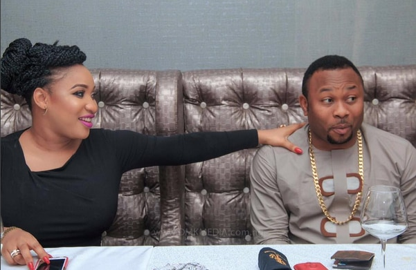 Image result for Tonto Dikeh reveals her ex-husband, Olakunle Churchill is one minute man