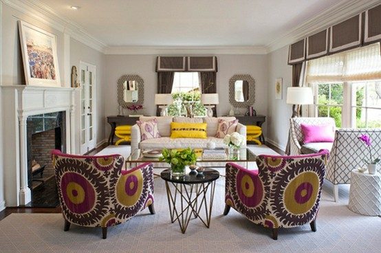 Ideas and Inspiration for Creative Living: Arranging Living ...
