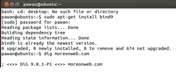 IT Practicals: Setting DNS server