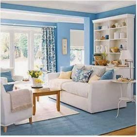 A mi manera colores lindos para pintar las paredes de la sala - Pintar las paredes de dos colores ...