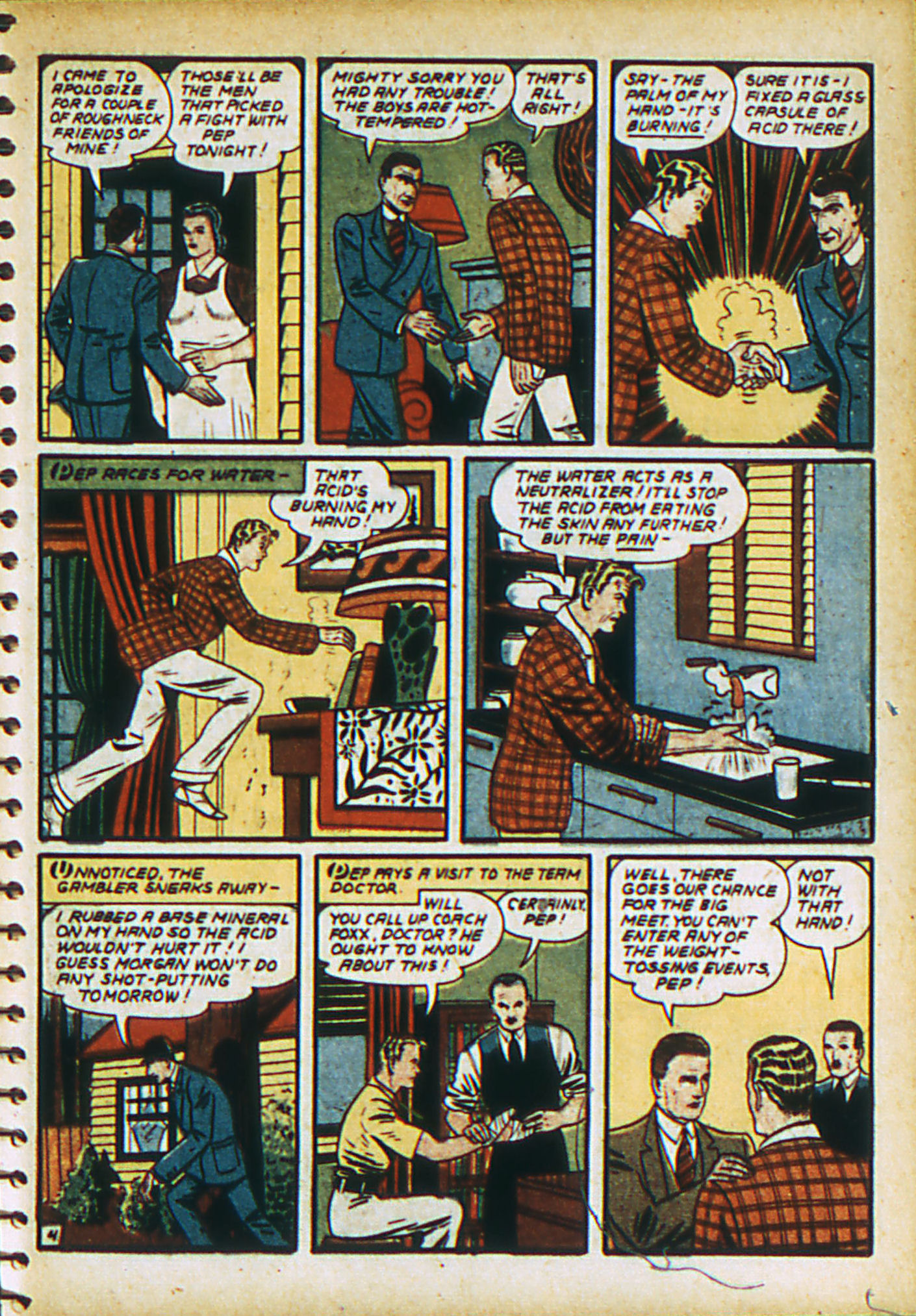 Read online Action Comics (1938) comic -  Issue #28 - 22