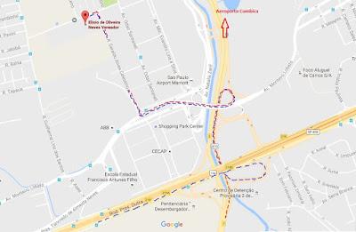 Mapa localização da Escola