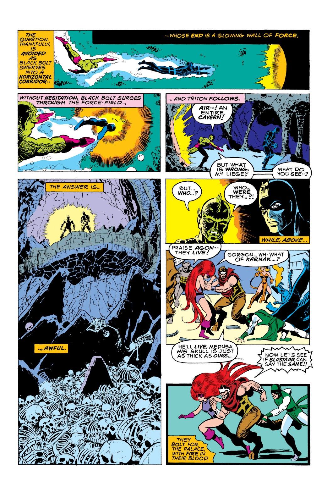 Read online Marvel Masterworks: The Inhumans comic -  Issue # TPB 2 (Part 1) - 33