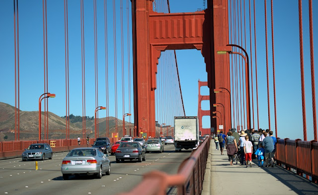 Ponte Golden Gate na Califórnia
