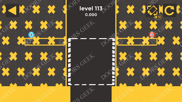 Ball & Ball Level 113 Solution, Walkthrough, Cheats for android and ios