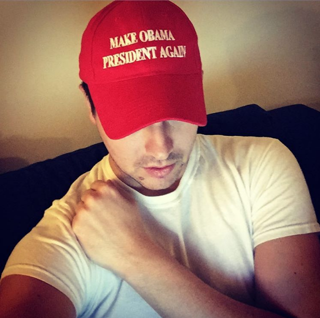 red cap Make Obama President Again