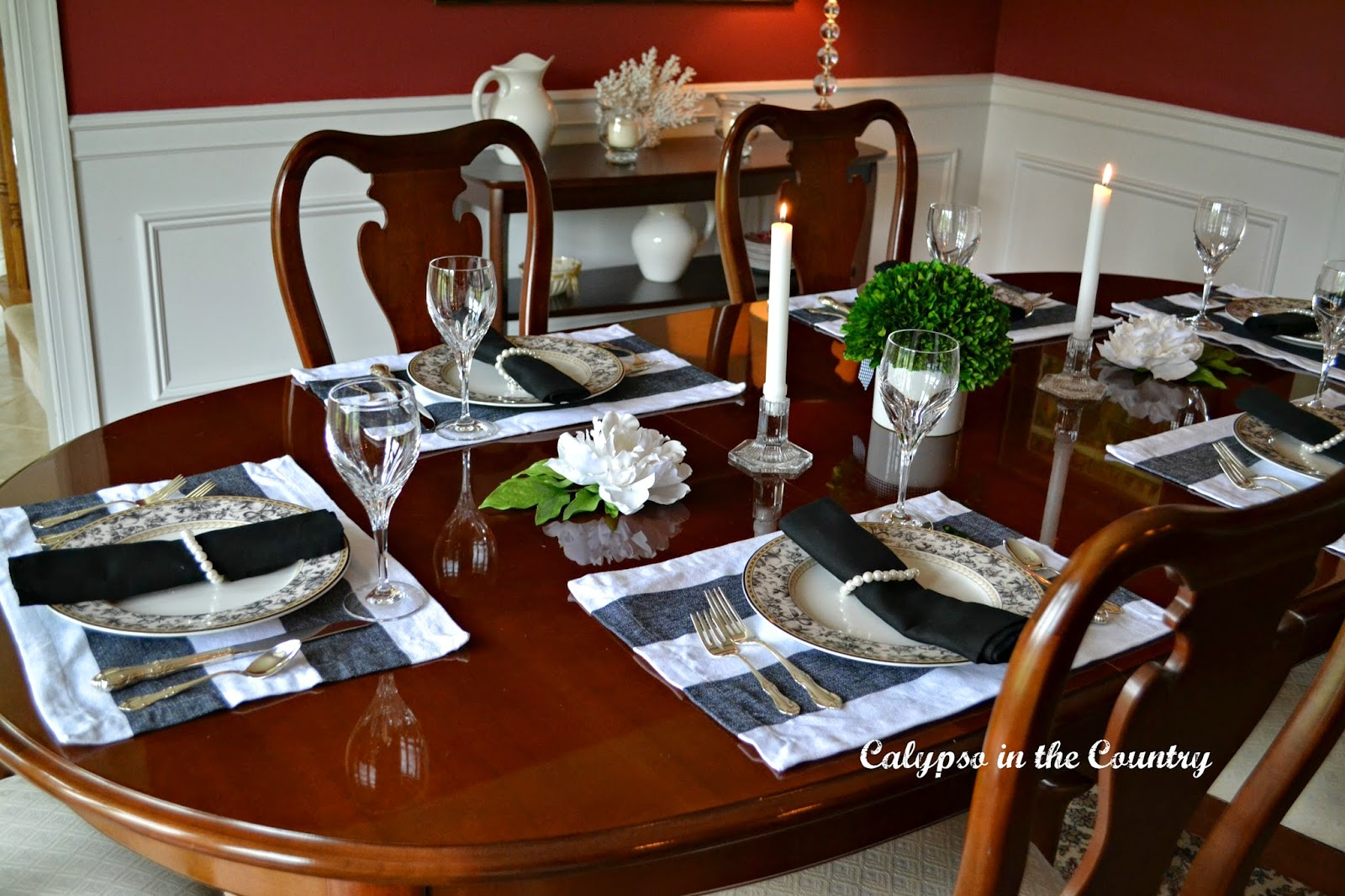 Jackie Kennedy Inspired Table Setting