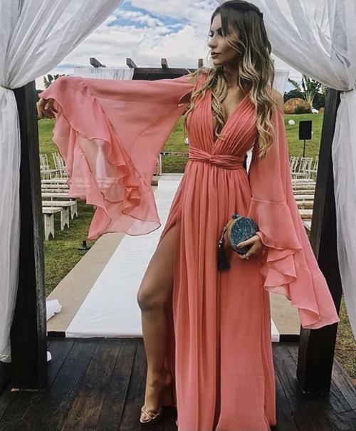 vestido madrinha dia