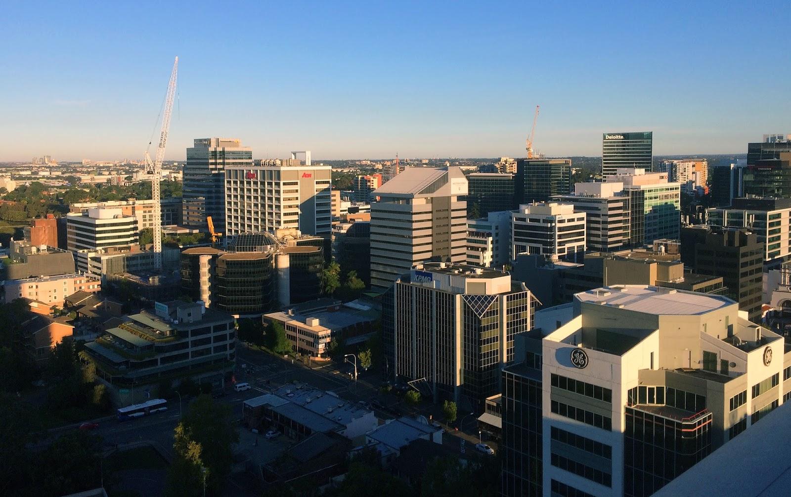 Meriton Church Street Parramatta City Views