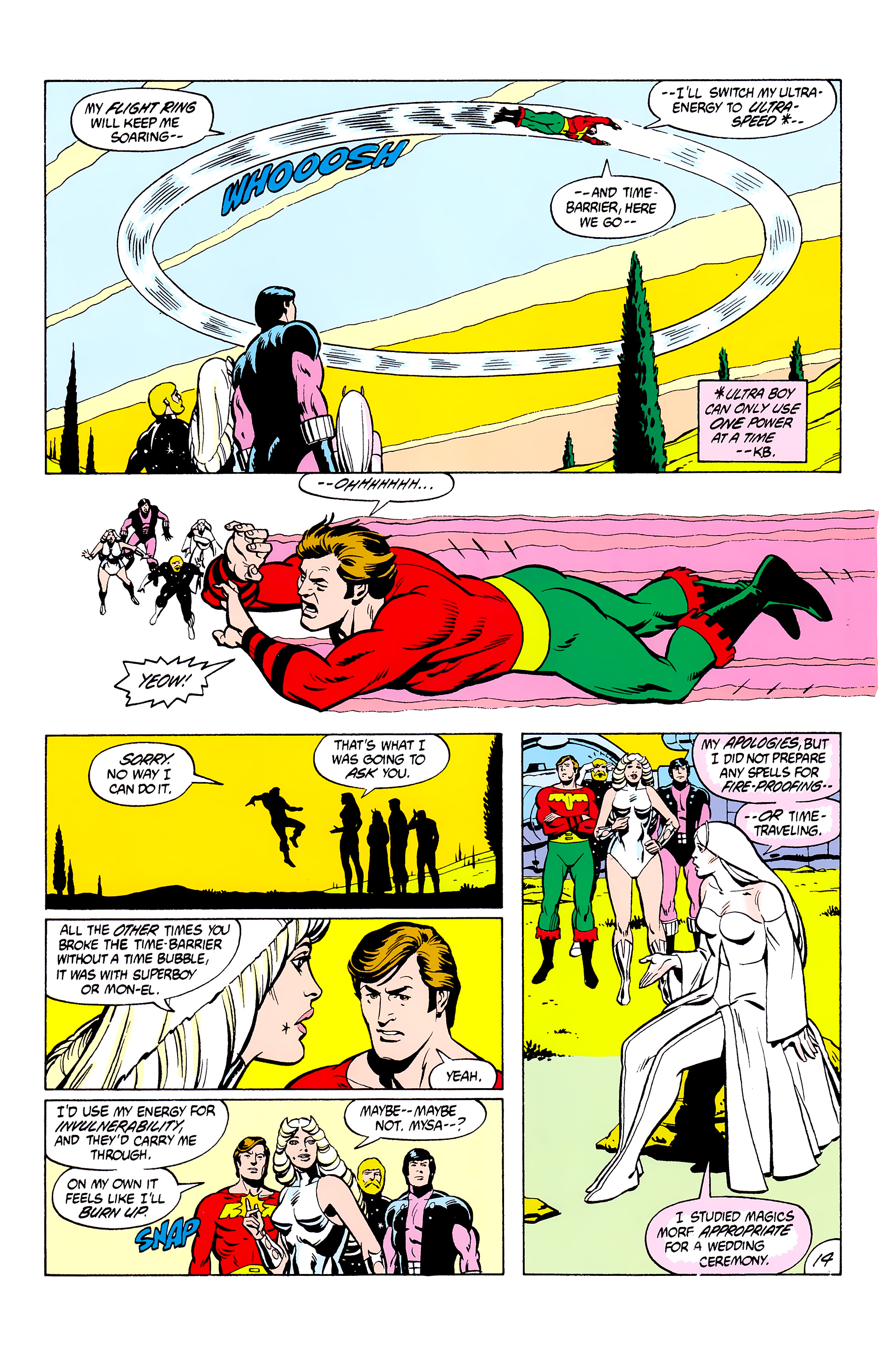 Legion of Super-Heroes (1980) _Annual_2 Page 14