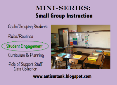 Mini Series: Small Group Instruction and Student Engagement/Teaching Techniques