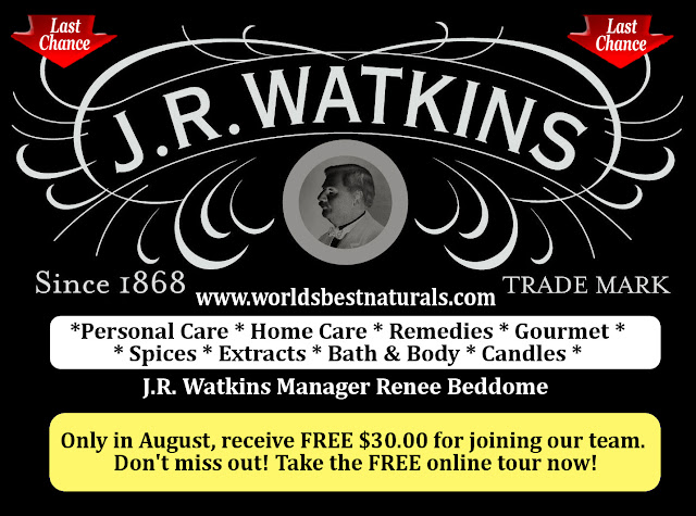Join JR Watkins for FREE
