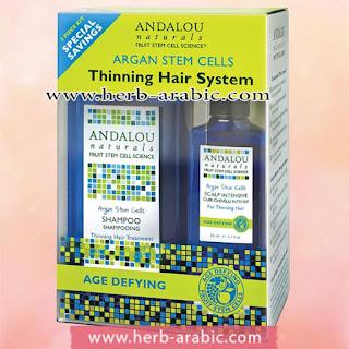 نظام علاج الشعر الخفيف اندالو