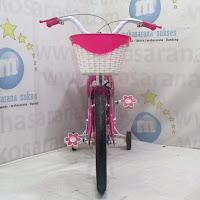 16 pink exotic sepeda anak perempuan