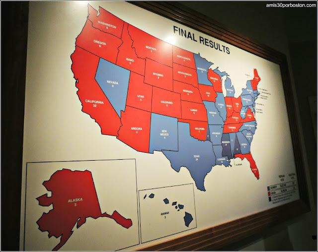 Mapa Resultados de las Elecciones