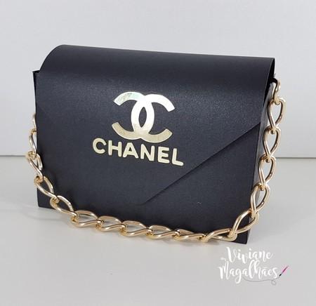 89d403766 Viviane Magalhães: Lembrancinha de 15 anos | Bolsa Chanel inspiração |  Viviane Magalhães