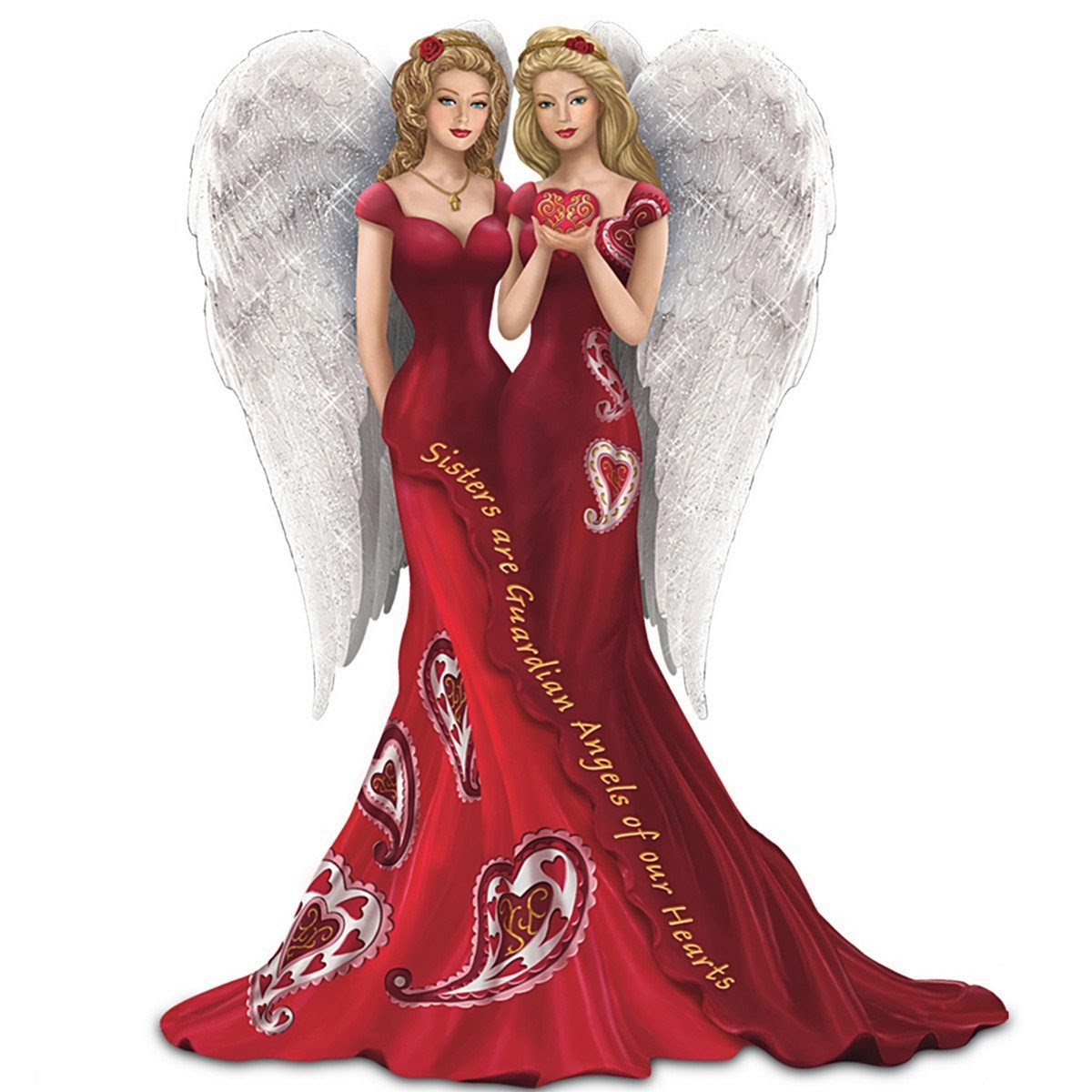 Thomas Kinkade Online Catalog: Sisters Are Guardian Angels ...