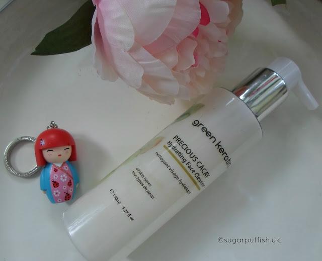 Review Green Keratin Precious Cacay Hydrating Face Cleanser
