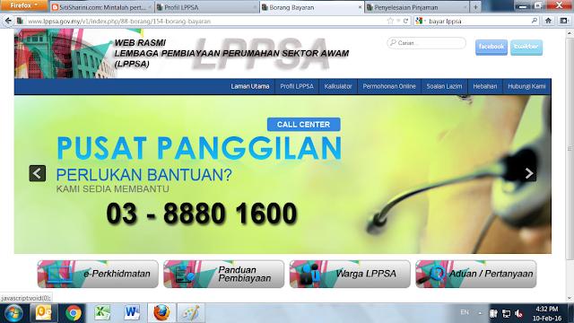 Nombor telefon LPPSA