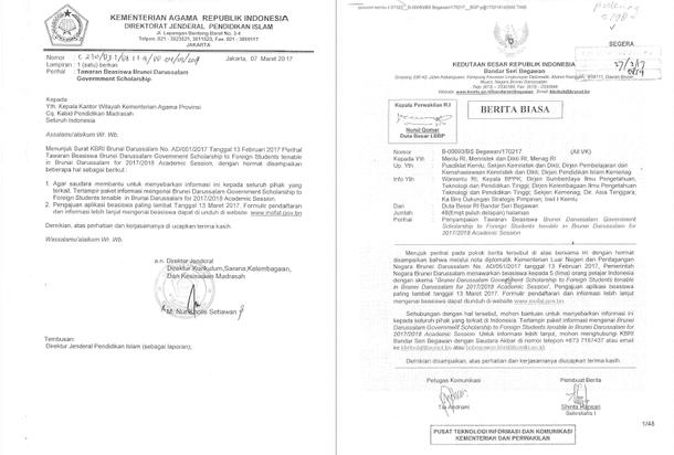 Tawaran Beasiswa Brunei Darussalam