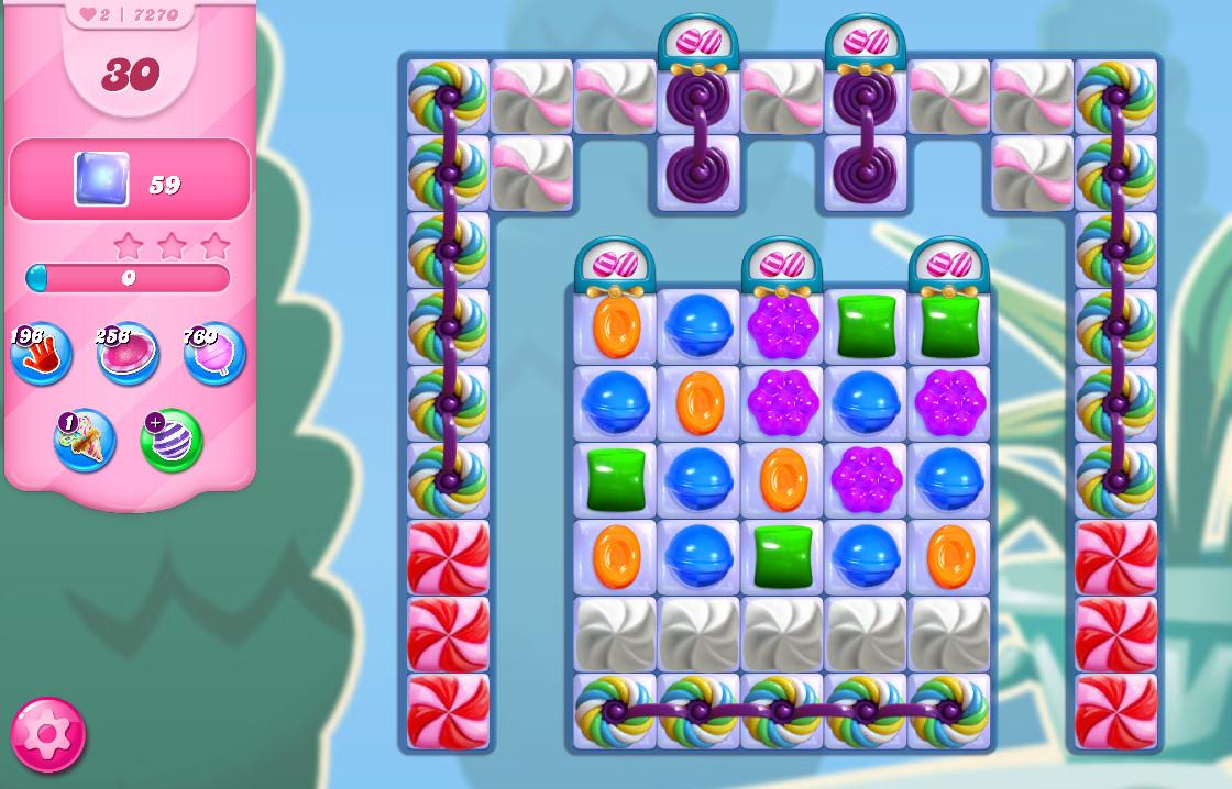 Candy Crush Saga level 7270