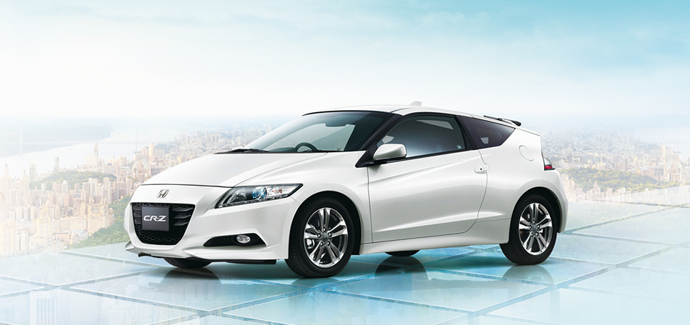 2012 Honda Cr Z Hybrid Sport Car