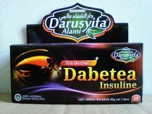 Obat Diabetes Alami Teh Celup Dabetea (Diabetea) lnsuline Darusyifa