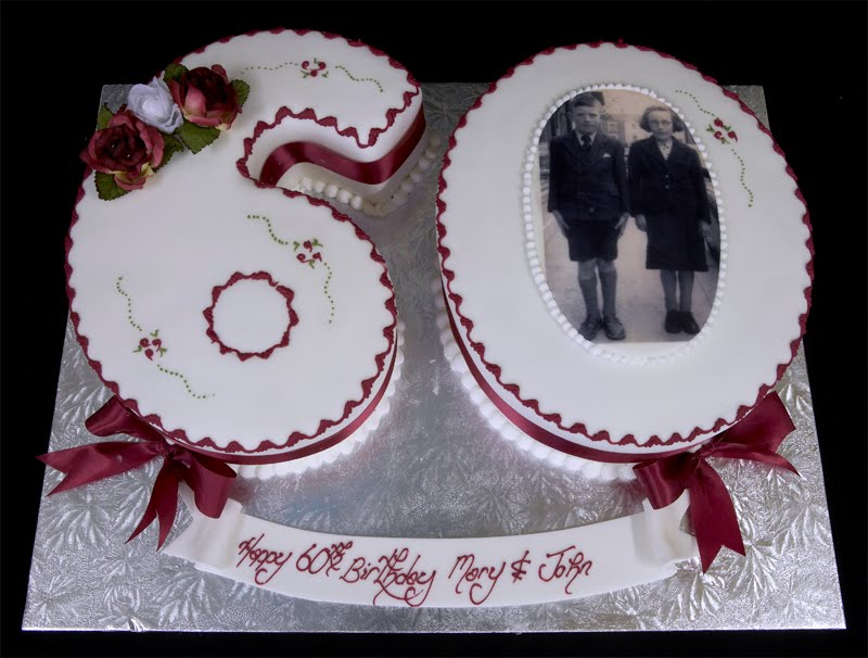 Birthday Cakes For Sixty Year Olds