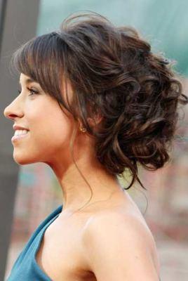 Peinado Para Pelo Suelto Y Tocado - Ver-recogidos-de-pelo