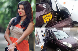 Kaveesha Ayeshani Premaratne accident photos